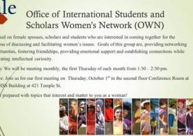 Learn about OISS Women's Network (OWN)