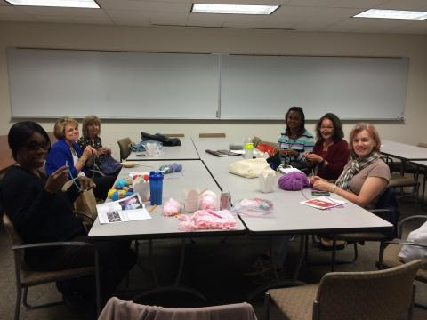 Picture from 10/5/15 Knitting Group
