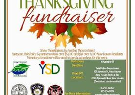 Annual Season of Giving Thanksgiving Fundraiser Flyer