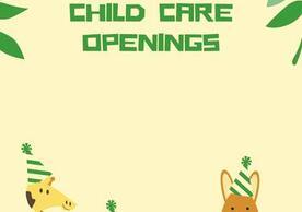 Child Care Opening Photo